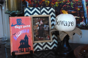 Halloween Countdown Board