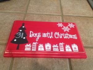 Christmas Tree Countdown