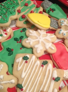 Christmast Cookies with royal icing