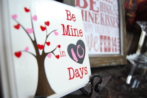 Valentine Countdown Board